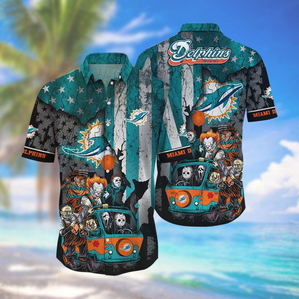 Miami Dolphins NFL Hawaiian Shirts