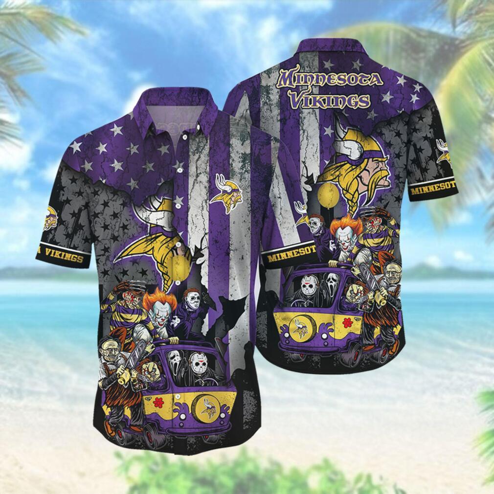 Minnesota Vikings NFL Hawaiian Shirts