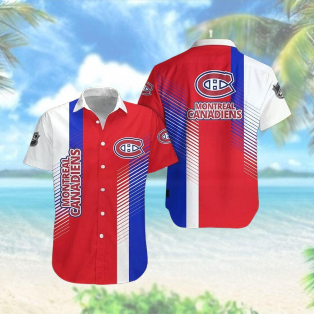 Montréal Canadiens Limited Edition Button Down Hawaiian Shirt