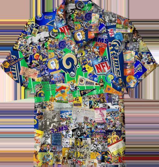 NFL Los Angeles Rams Classic Hawaiian Shirt