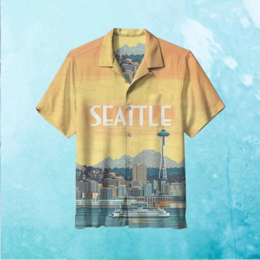 Nature Lovers Dream Seattle Hawaiian Shirt