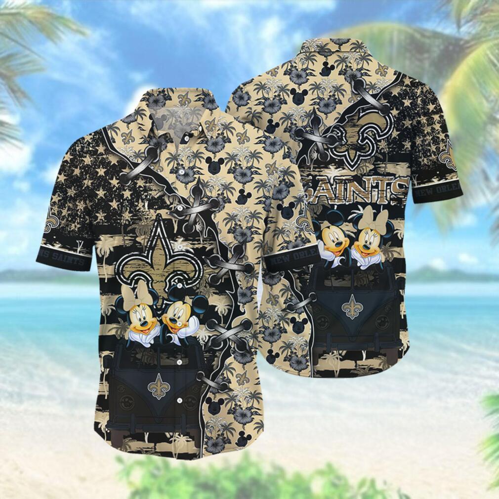 New Orleans Saints NFL Hawaii Shirt Style Hot Trending 3D Hawaiian Shirt