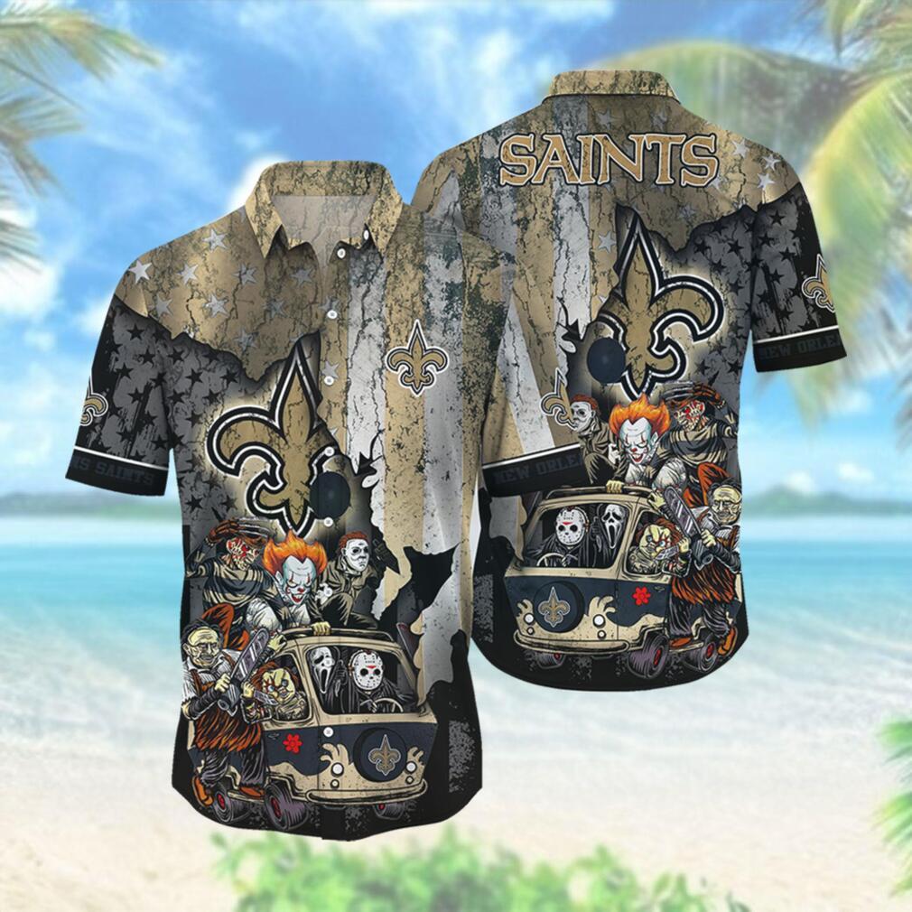 New Orleans Saints NFL Hawaiian Shirts