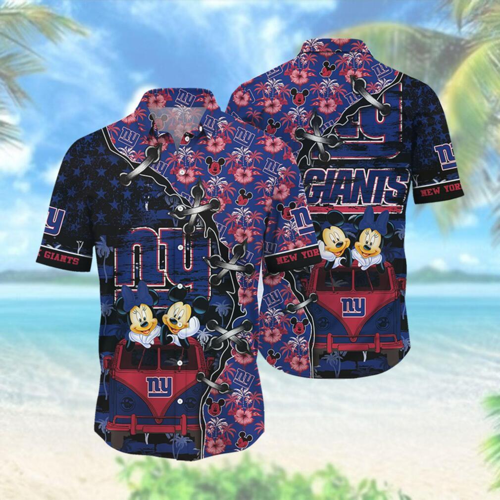 New York Giants NFL Hawaii Shirt Style Hot Trending 3D Hawaiian Shirt