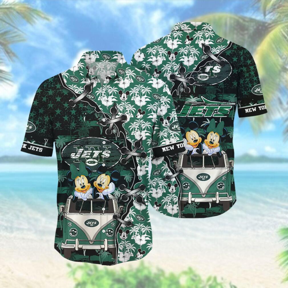 New York Jets NFL Hawaii Shirt Style Hot Trending 3D Hawaiian Shirt