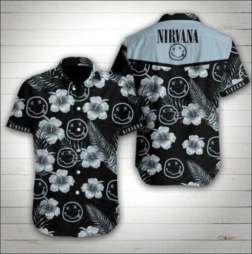 Nirvana Hawaii Hawaiian Shirt Fashion Tourism For Men, Women Shirt