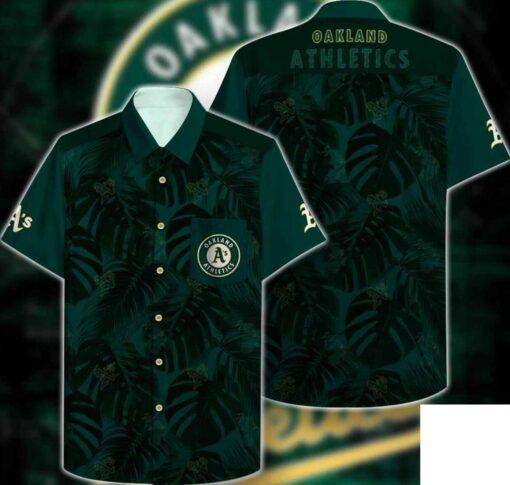 Oakland Athletics Hawaii Hawaiian Shirt Fashion Tourism For Men, Women Shirt
