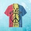 Peace & Love Revolution Hawaiian Shirt