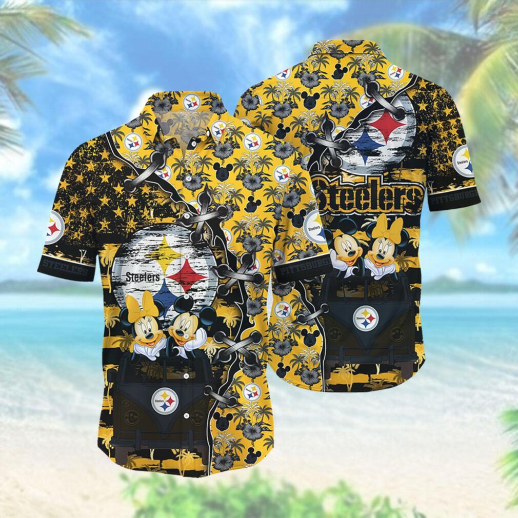Pittsburgh Steelers NFL Hawaii Shirt Style Hot Trending 3D Hawaiian Shirt