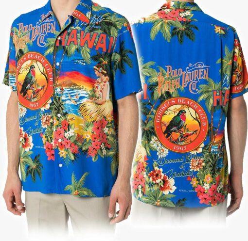 Polo Hawaii Hawaiian Shirt Fashion Tourism For Men, Women Shirt