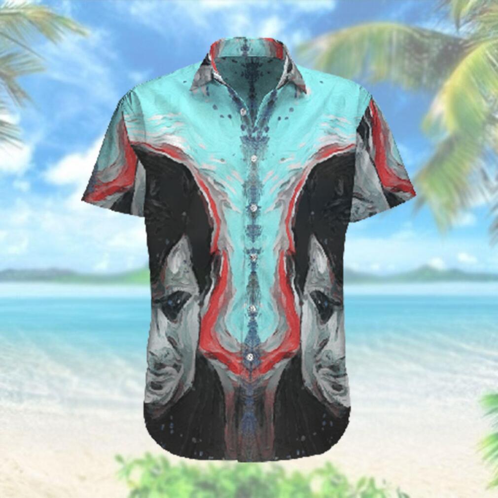 Psycho Norman Smile Hawaiian Hawaiian Shirt
