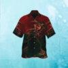 Pumpkin Crescent Halloween Hawaiian Shirt