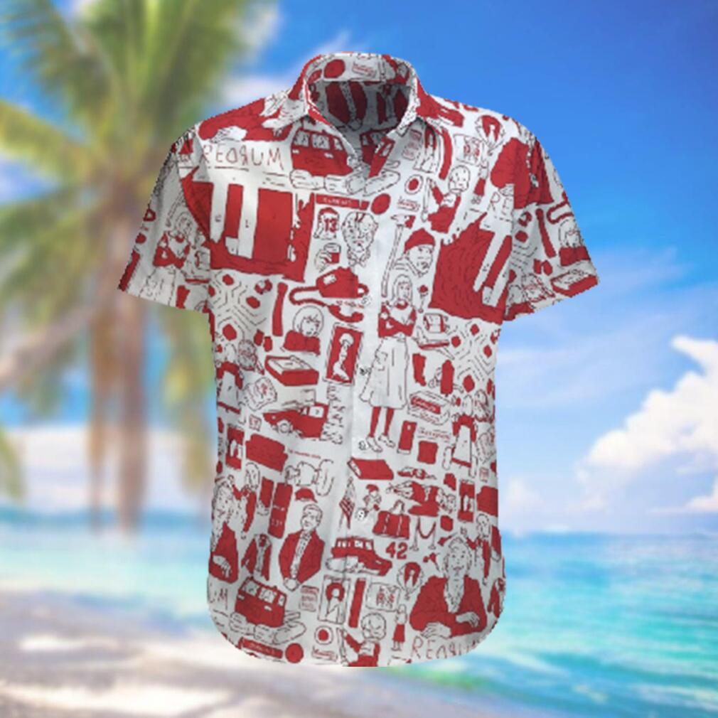 RedruM Hawaiian Shirt Red Pattern Hawaiian Shirts