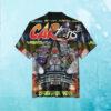 Retro Car Toons Comic Hawaiian Shirt