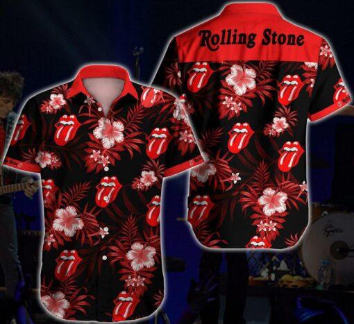 Rolling Hawaiian Hibiscus Hawaii Hawaiian Shirt Fashion Tourism For Men, Women Shirt3433