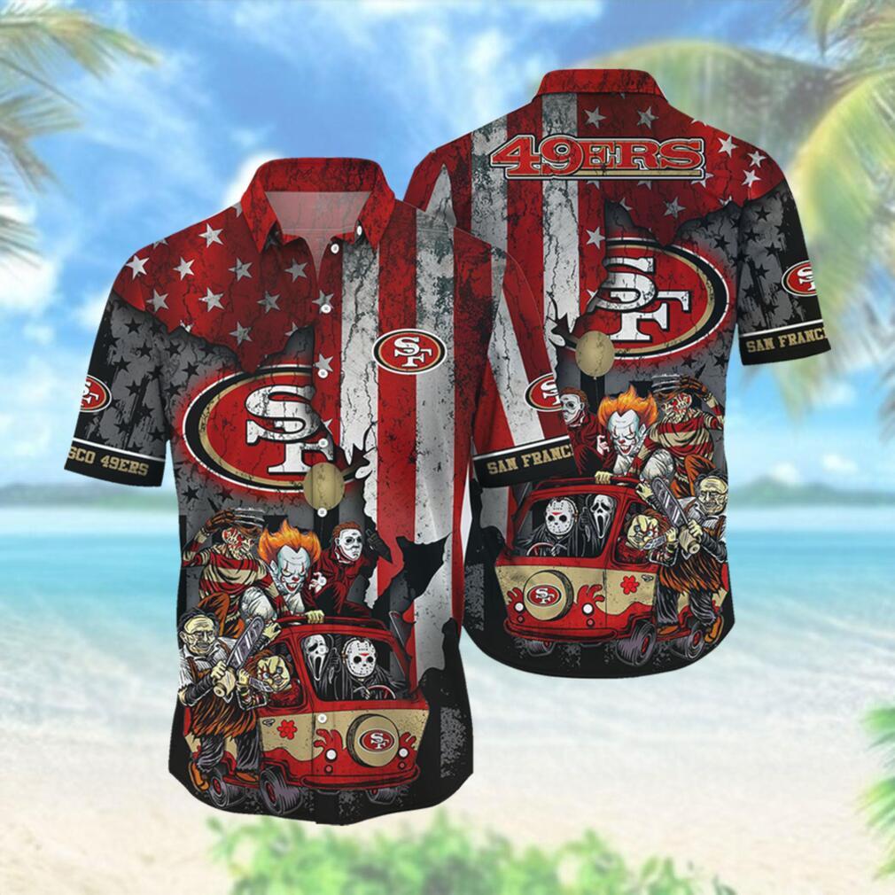 San Francisco 49ers NFL Hawaiian Shirts