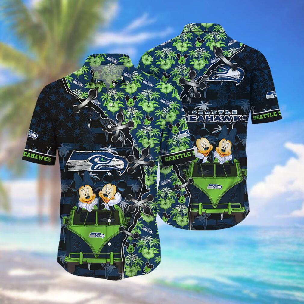 Seattle Seahawks NFL Hawaii Shirt Style Hot Trending 3D Hawaiian Shirt – 3D Tshirt
