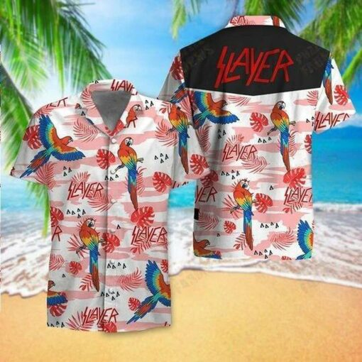 Slayer Hawaii Hawaiian Shirt Fashion Tourism For Men, Women tShirts
