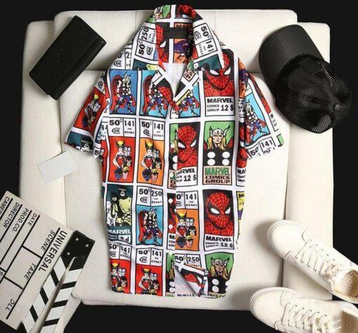 Spider-Man Hawaii Hawaiian Shirt Fashion Tourism For Men, Women Shirt