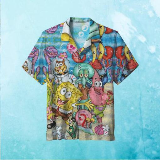 SpongeBob SquarePants Hawaiian Shirt