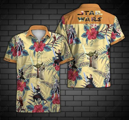 Star Wars Hawaii Hawaiian Shirt Fashion Tourism For Men Women Shirt