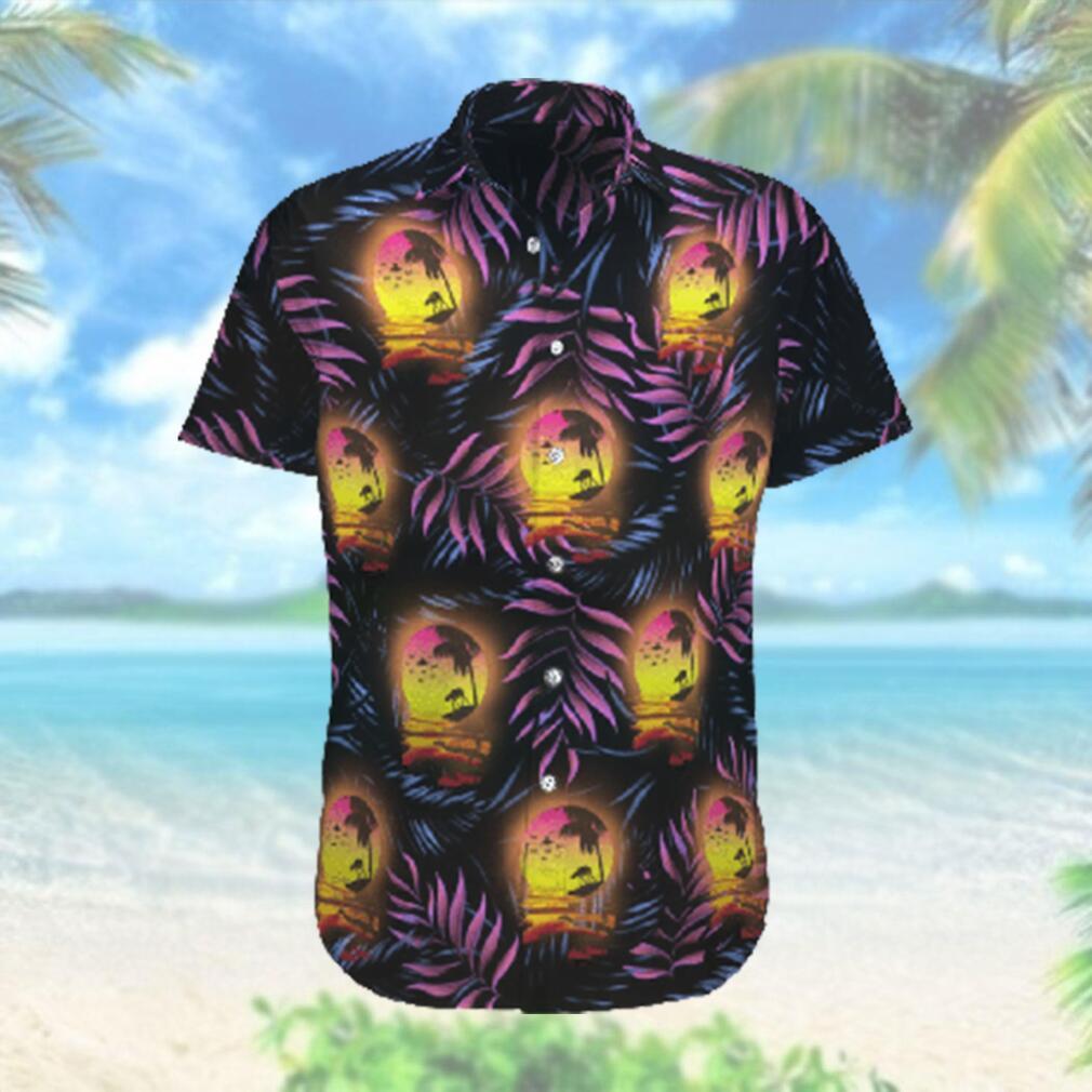 Star wars Moon Purple Floral Hawaiian Hawaiian Shirt