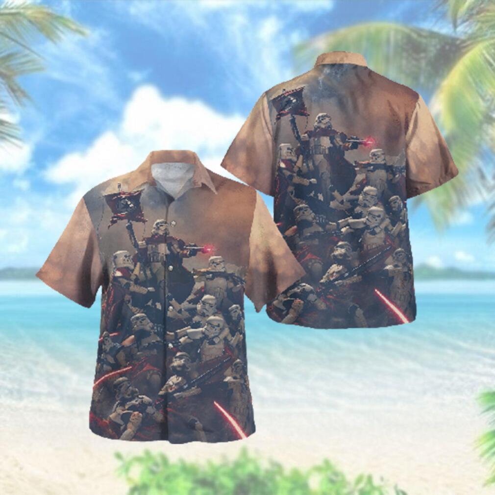 Stormtrooper Revolutionary Star wars Hawaiian Hawaiian Shirt