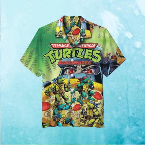 Teenage Mutant Ninja Turtles Adventures Hawaiian Shirt