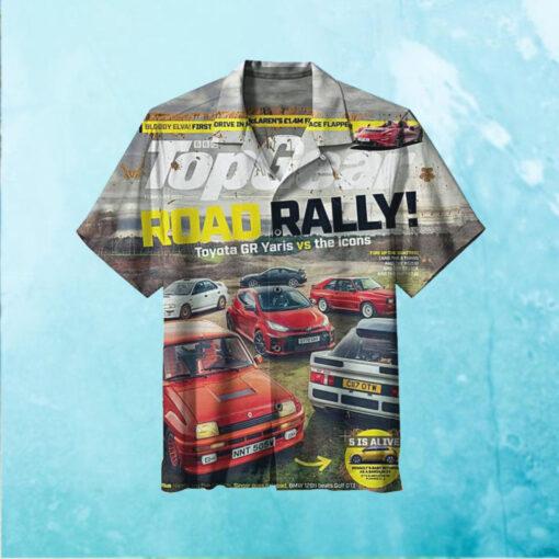 The Most High End Road Rally Hawaiian Shirt