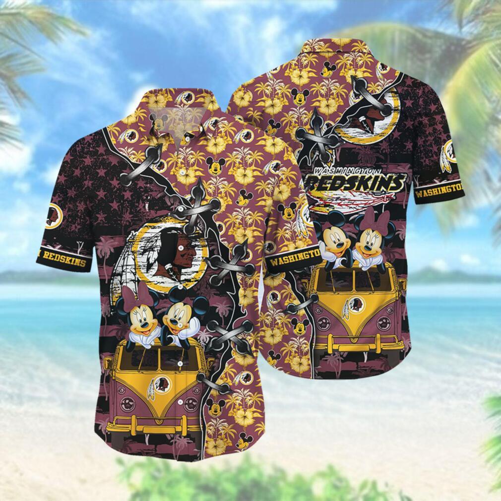 Washington Redskins NFL Hawaii Shirt Style Hot Trending 3D Hawaiian Shirt