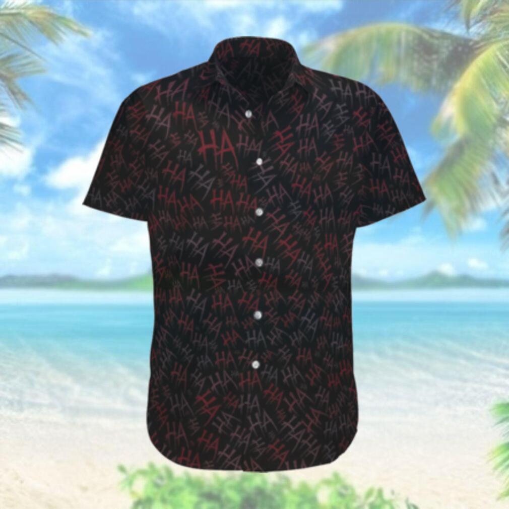 Why so serious Batman Hahaha dark version Hawaiian Shirt