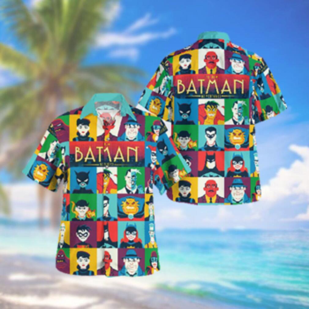 Animated The New Batman Adventure Hawaiian Shirt Summer Hawaiian Shirt