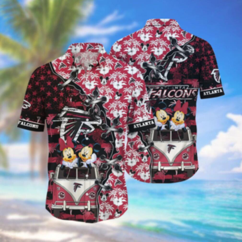 Atlanta Falcons NFL Hawaii Shirt Style Hot Trending 3D Hawaiian Shirt